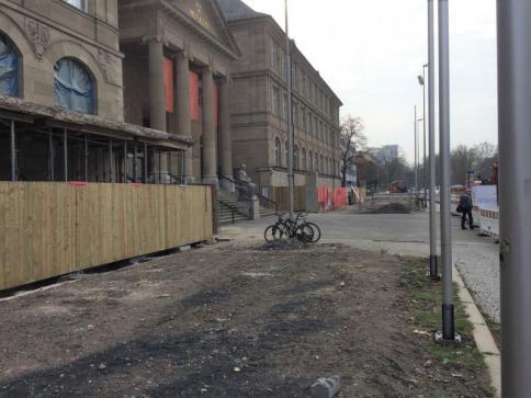 vor Baubeginn