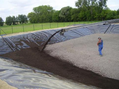 Einbau Pflanzsubstrat